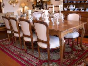 pedestal table chairs dining vintage