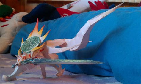 Amaterasu Papercraft - amaterasu papercraft by horsegirl71496 on deviantart