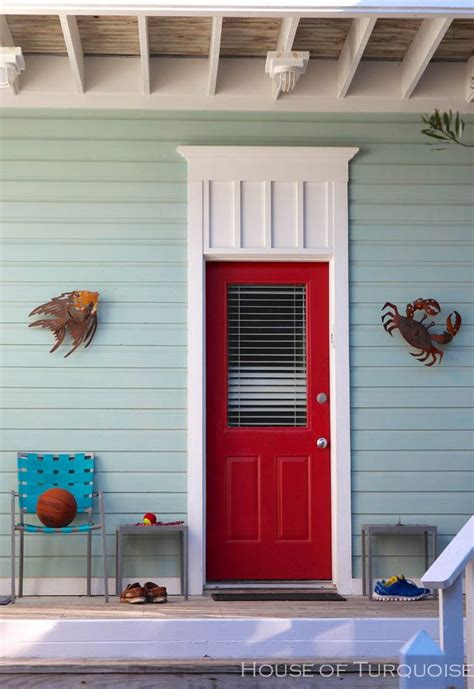 paint colors exterior for red door house of turquoise turquoise houses of seaside florida