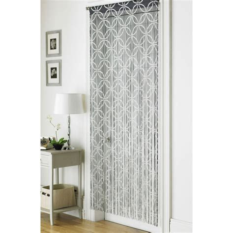 Curtains For Interior Doors by Retro Chic String Interior Door Curtain Panel 90 X 200cm