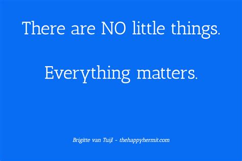 Every Thing Matters by There Are No Things Everything Matters