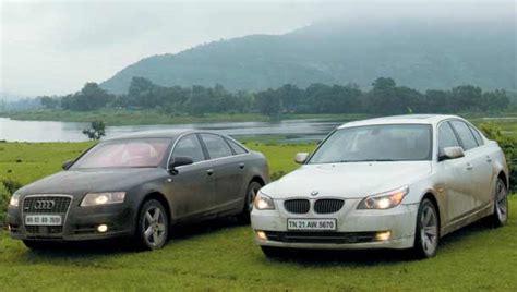 Audi A6 Vs Bmw 530d by And Audi A6 3 0 Tdi Vs Bmw 530d