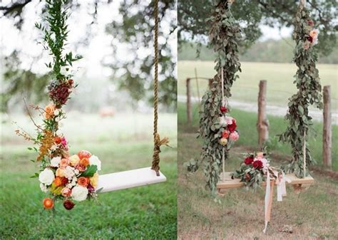 30 Wedding Reception Décor Swing Ideas   Deer Pearl Flowers