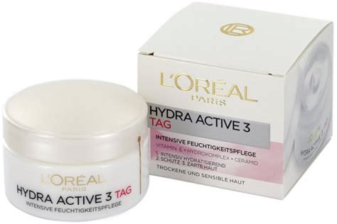 Loreal Active 50 Ml 4 Variant l or 201 al hydra active 3 day for and sensitive skin 50 ml review and