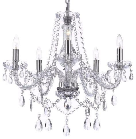 Garren Crystal Chandelier   Traditional   Chandeliers   by