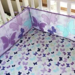 baby bedding crib cot sets purple butterfly theme brand