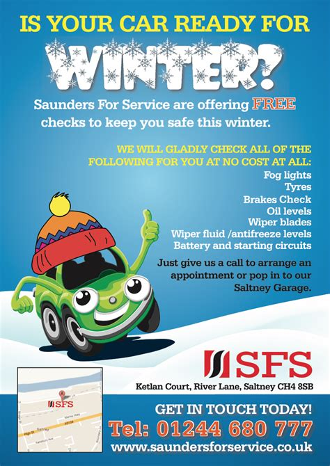 Get Free Background Check Get Your Car Ready For Winter Free Checks Available Saunders For Service