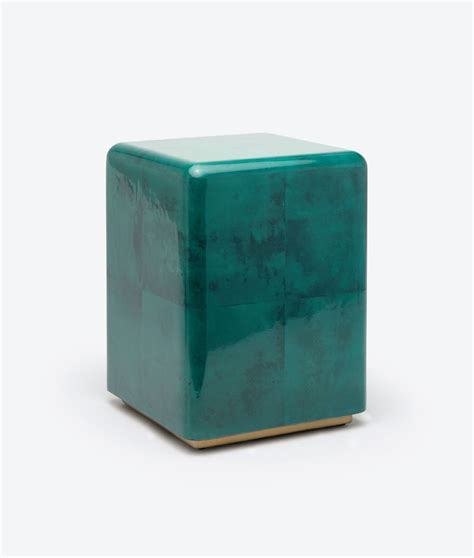 Cube Stools by Cube Vellum Stool Mecox Gardens