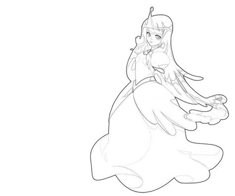 Princess Bubblegum Cute Avondale Style Princess Bubblegum Coloring Pages Printable