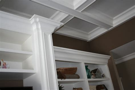 Living Room Molding Ideas More Customized Molding Moulding Ideas