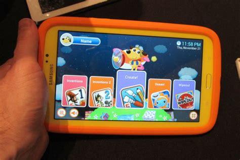 Samsung Galaxy Tab For Kid on with the samsung galaxy tab 3 tablet liliputing