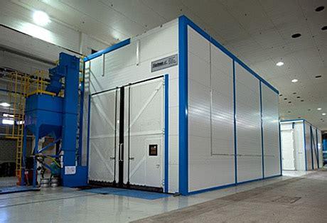 cabine di sabbiatura usate camere di sabbiatura e verniciatura blastman robotics
