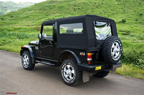 thar jeep 2015 mahindra thar facelift a close look team bhp