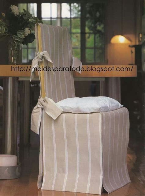 Slipcovers For Dining Room Chairs Fundas Para Sillas Molde For Home Pinterest Chair