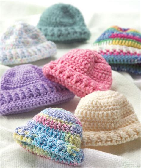 knitted newborn hats for hospitals wee newborn hats free knit or crochet patterns