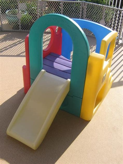 step 2 play structure with slide step 2 kangaroo climber play structure slide