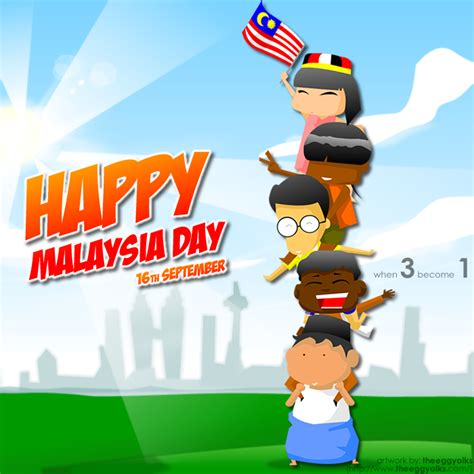 malaysia day 蛋黃打点滴 happy malaysia day 2012