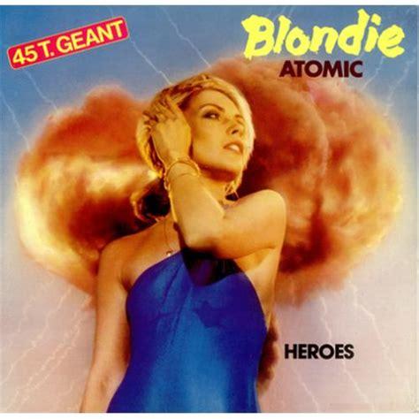 blondie atomic blondie atomic 12 quot vinyl single 12 inch record