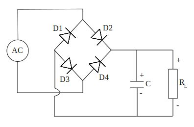 schematic of diode bridge diode bridge rectifier circuit electrostudy