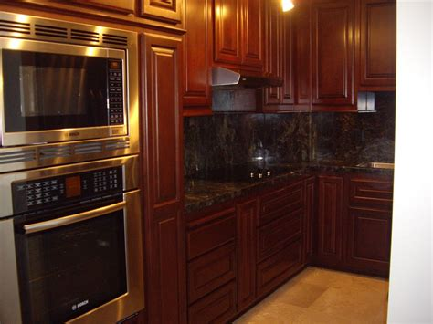 Stained Kitchen Cabinets Kitchen Cabinets In Southern California C And L Designs