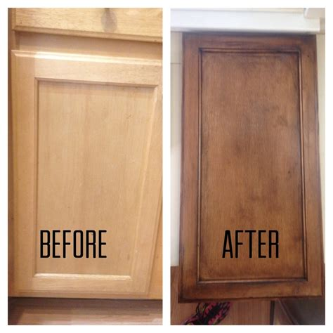refinishing my builder grade kitchen cabinets diy diy our kitchen cabinet makeover hometalk