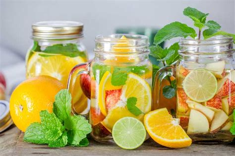 What Fruit Are In Water To Drink And Detox by Hydrate With Refreshing Fruit Infused Water Foodal