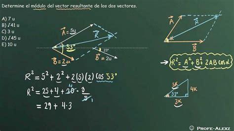 imagenes de vectores fisica problema vectores 101 fisica youtube