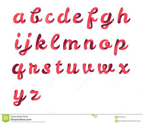 eps format fonts ribbon script font stock vector image of origami eps10