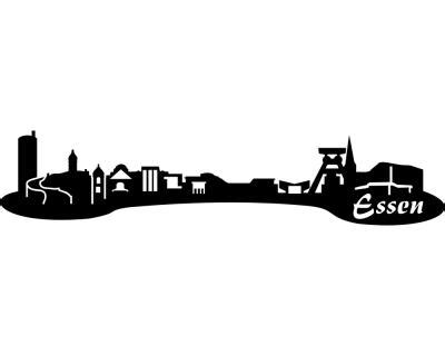 Autoaufkleber In Essen by Autoaufkleber Essen Aufkleber Skyline Plot4u