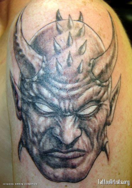 black and grey demon tattoos demon head tattoo google s 248 k tats pinterest demons