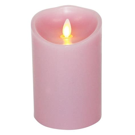 Men Bathroom Ideas Luminara Candle Flameless Led 3 5 X 5 Quot Jasmine Pink