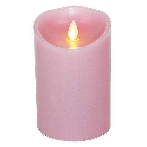 luminara candele luminara candle flameless led 3 5 x 5 quot pink