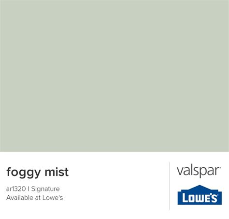 valspar paint color chip foggy mist paint colors i