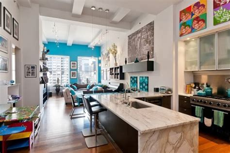 crest home design new york fabulous new york loft livened with light and colour