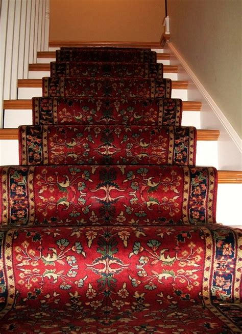 Stairway Rug by Traditional Knotted Stairway Runner Traditional