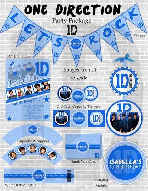 one direction printable thank you cards the 18 best images about one direction party on pinterest