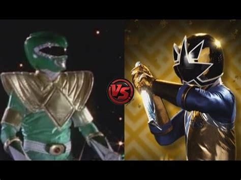 legend boats vs ranger mighty morphin green ranger vs gold samurai ranger