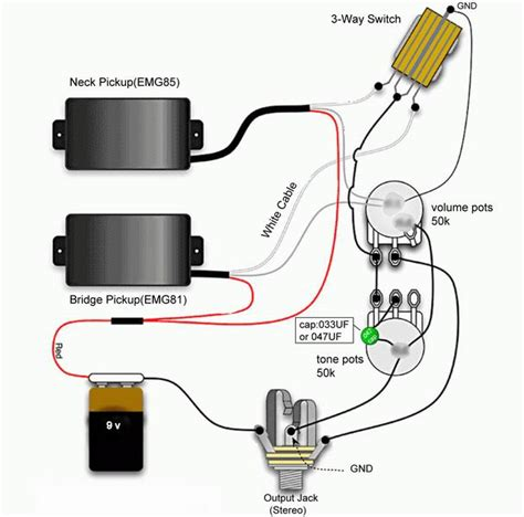 emg 85 wiring diagram emg free engine image for user