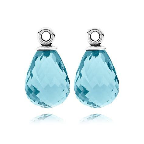 glass pandora pandora earring blue murano glass pandora 1943 13