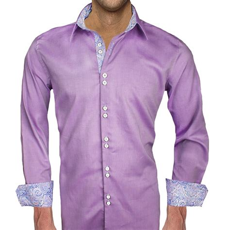 light purple dress shirt mens purple shirt custom shirt