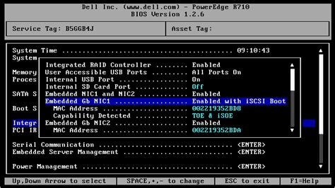 Mba Configuration Menu Dell by How To Configure Esxi To Boot Via Software Iscsi Vmware