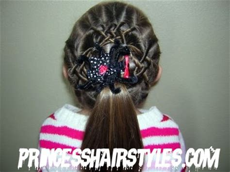 spider web hairstyle elastic style for hair hairstyles for october 2010