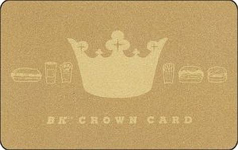 Bk Crown Card Gift Card - gift card crown card burger king united states of america burger king col us