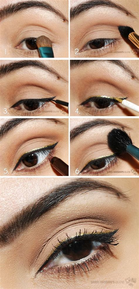 eyeliner tutorial for school 5 eyeshadow looks perfect for brown eyed girls project