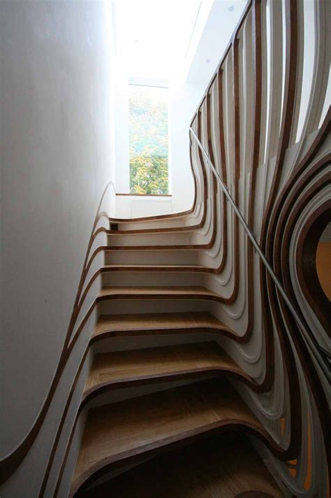 Architectural Stairs Design Artistic Stair Design By Atmos Studio Modern Architecture Design