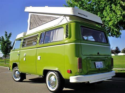 buy   vw westfalia pop top camper full restored    nampa idaho united states