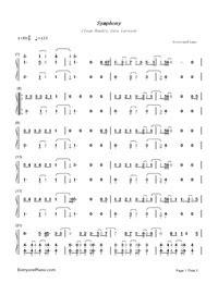 she s not me zara larsson chords piano symphony clean bandit zara larsson free piano sheet music