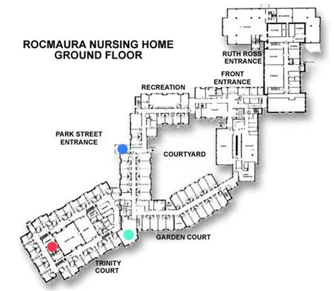 Nursing Home Layout Design Rocmaura Nursing Home Inc