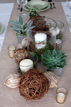 Weihnachtsdeko Aus Naturmaterialien 3025 by Elements Tablescape Wedding Nature Tablescape