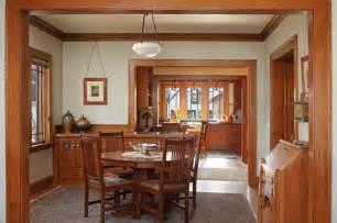 st paul bungalow remodel craftsman dining room